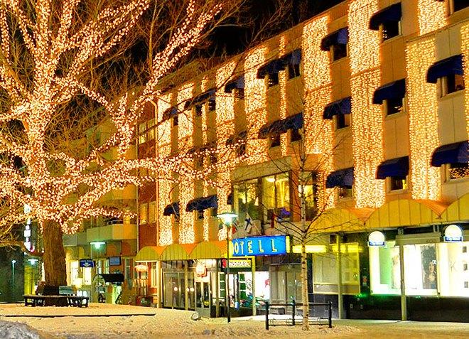 Отель города Питео
