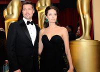 Брэд Питт и Анджелина Джоли на Оскар 2009
