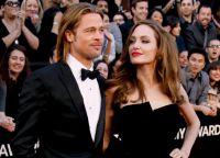 Брэд Питт и Анджелина Джоли на Оскар 2012