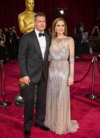 Брэд Питт и Анджелина Джоли на Оскар 2014