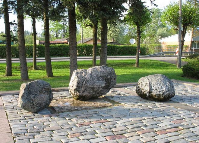 Парк Дружбы, где находятся исторические достопримечательности
