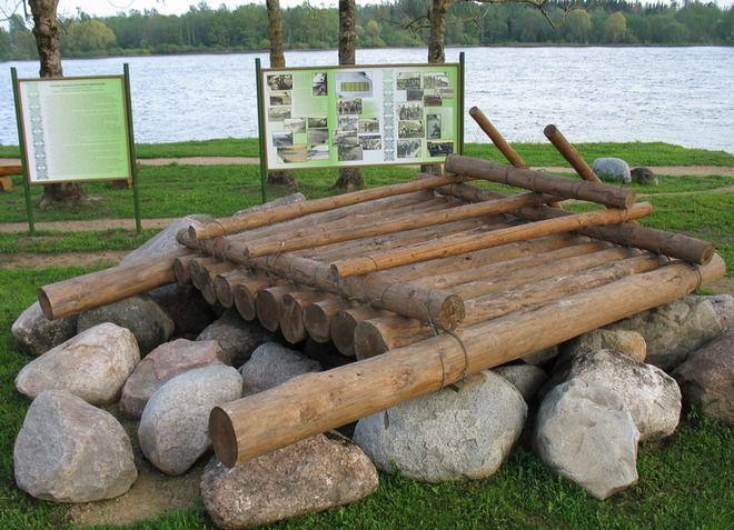Остатки укреплений в Парке Дружбы