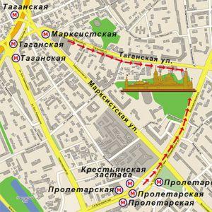 Pokrovski ženski samostan u Moskvi 1