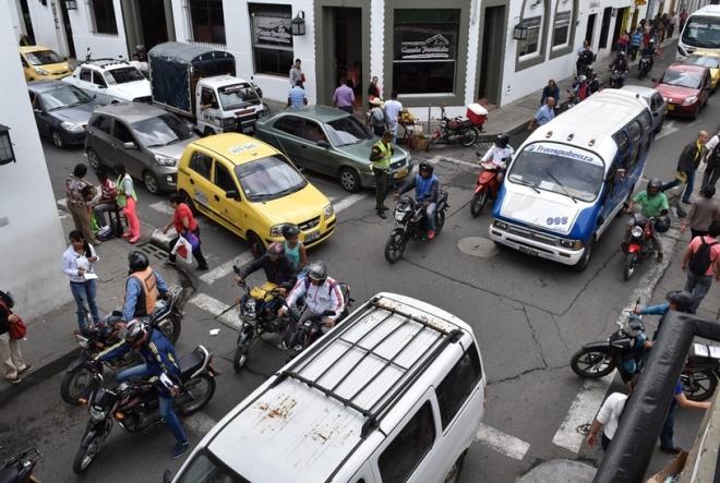 Транспорт в городе Попаян