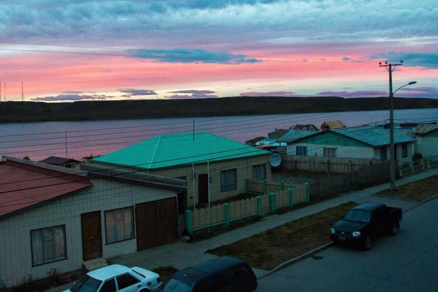 Закат в Порвенир