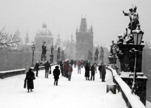 Praha v zimě1