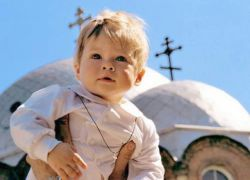 Molitveni simbol vjere u krštenju djeteta