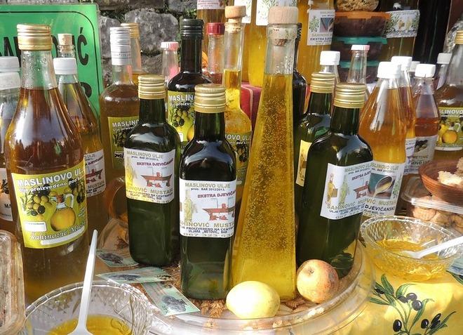 Оливковое масло из Прчани известно во многих странах