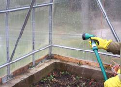 подготовка на оранжерия за зимата