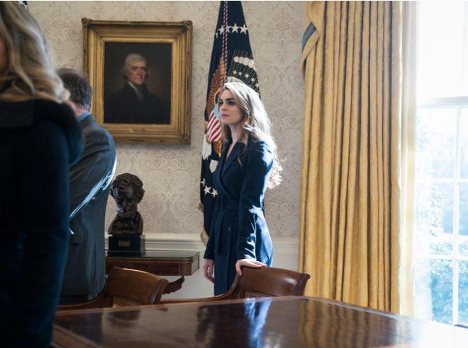 Хоуп Хикс попрощалась с Белым домом