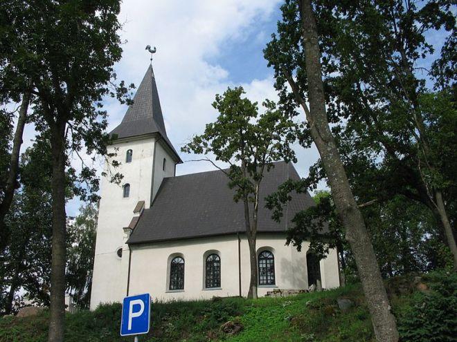 Лютеранская церковь в Приекуле