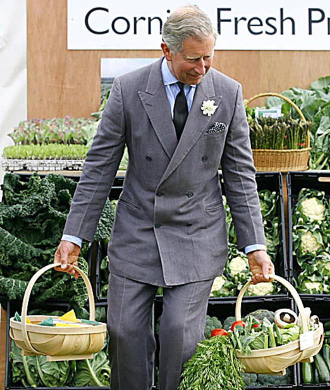 Чарльз открыто призывает обходиться без ГМО в сельском хозяйстве