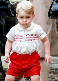 Принц Джордж назван самым стильным ребенком