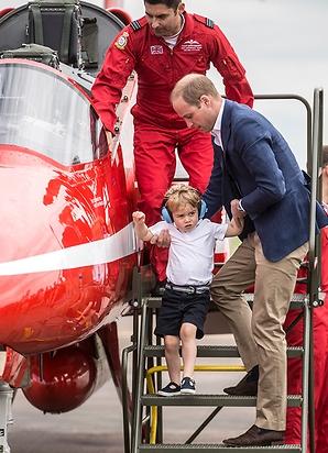 Принц Уильям с сыном