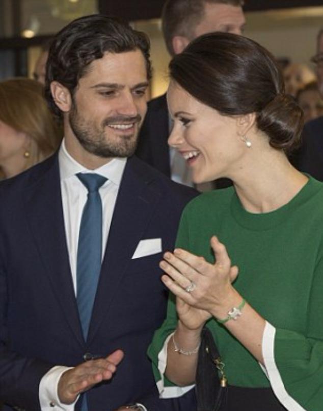 Принц Карл Филипп и принцесса София в сентябре снова станут родителями