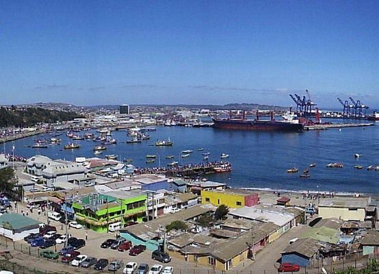Портовый город Сан-Антонио