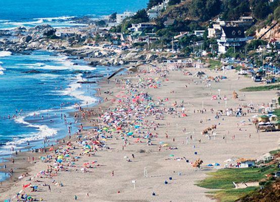 Пляж рядом с Maitencillo