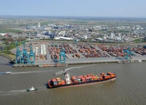 Порт в Антверпене