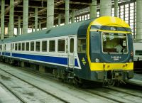 Поезд в Мадриде