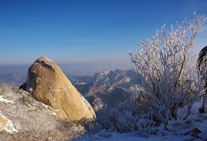 Пукхансан зимой