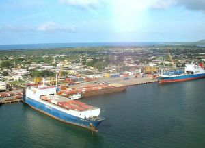 В Пуэрто-Кортесе есть крупный морской порт