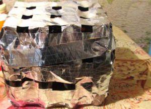 Osman z plastikowych butelek robi to sam2