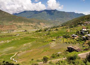 Плодородные долины Пунакха