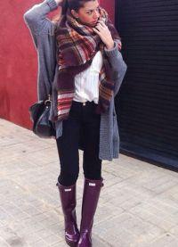 fioletowe buty 10
