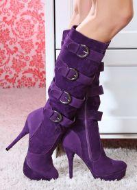 fioletowe buty 1