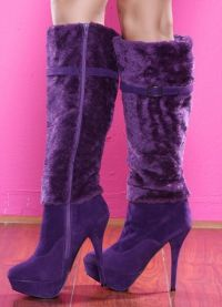 fioletowe buty 5