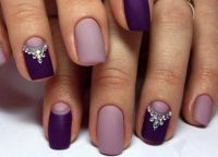 fioletowy manicure 3