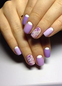 fioletowy manicure 4