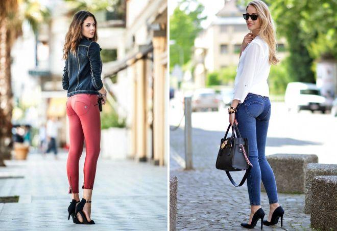 джинсы push up