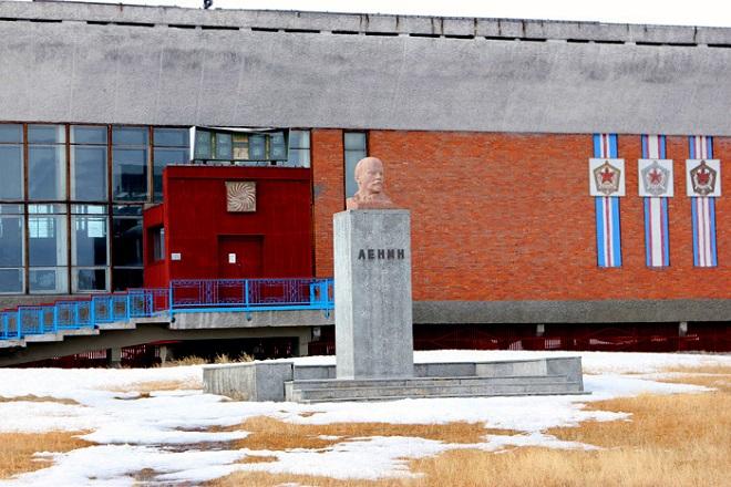 Самый северный памятник Ленину