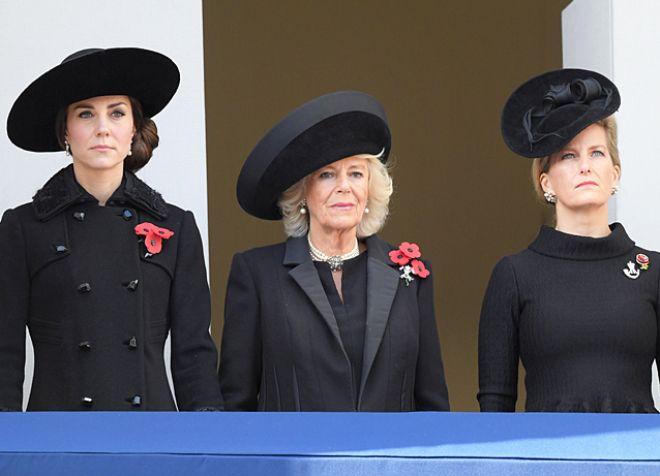 Кейт Миддлтон, герцогиня Корнуольская и графиня Софи