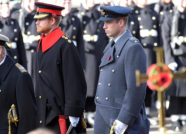Парад по случаю Дня памяти в Лондоне