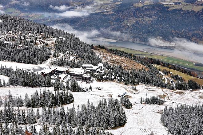 Вид на курорт