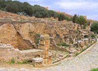 Руины римского города Сала