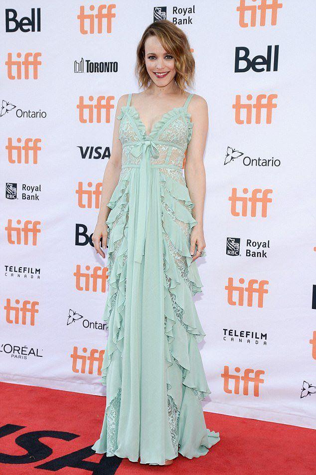 Рэйчел МакАдамс на кинофестивале в сентябре