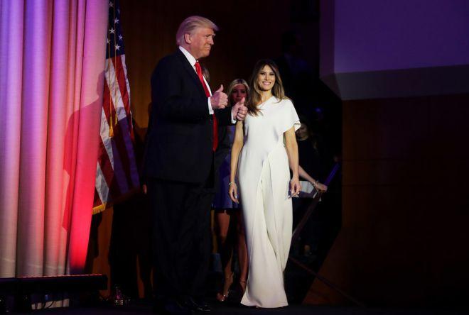 Мелания Трамп в образе от Ralph Lauren