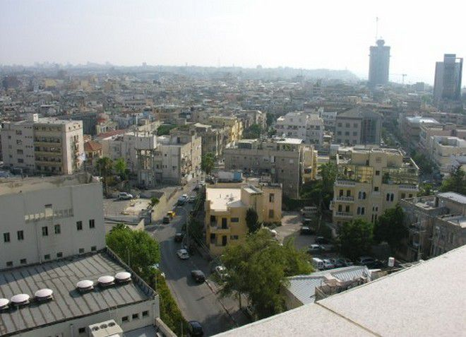 Вид сверху на Рамат-ха-Шарон