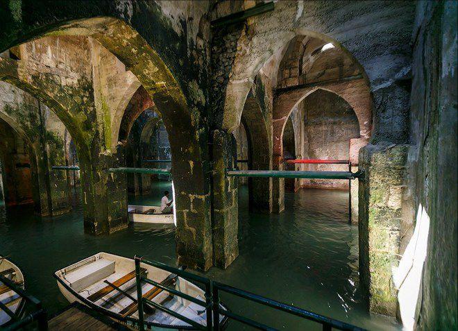 Подземный бассейн святой Елены