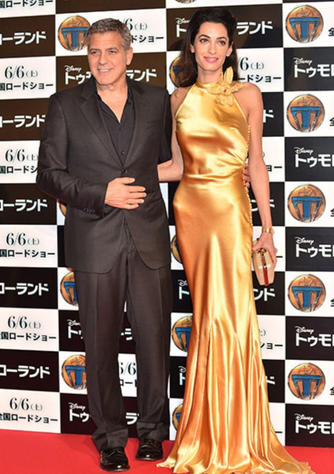 Джордж и Амаль Клуни выбрали для детей международные имена