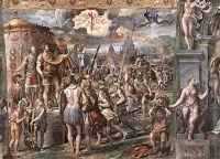 Фреска Видение Креста, Станца Константина