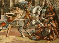 Изгнание Элиодора из Храма в Иерусалиме, Станца д'Элиодоро