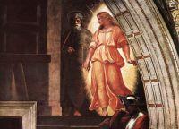 Фреска Изведение апостола Петра из темницы, Станца д'Элиодоро