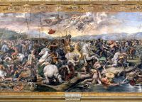 Фреска Битва у Мульвийского моста, Станца Константина