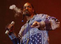 Snoop Dogg довольно часто курит каннабис на своих концертах