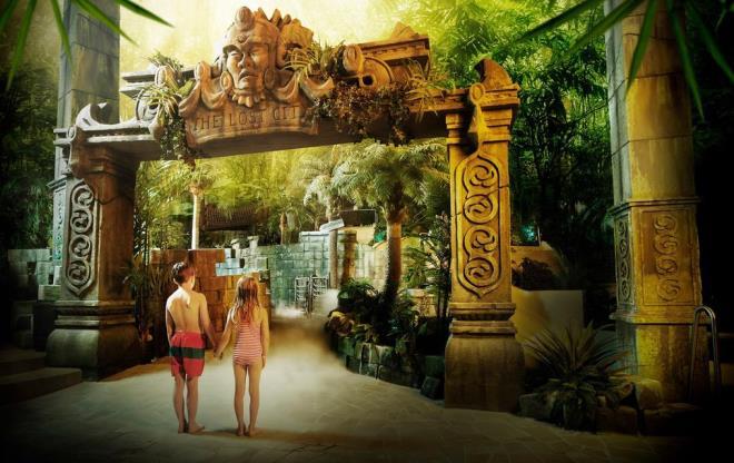 Аквапарк «Lost City»