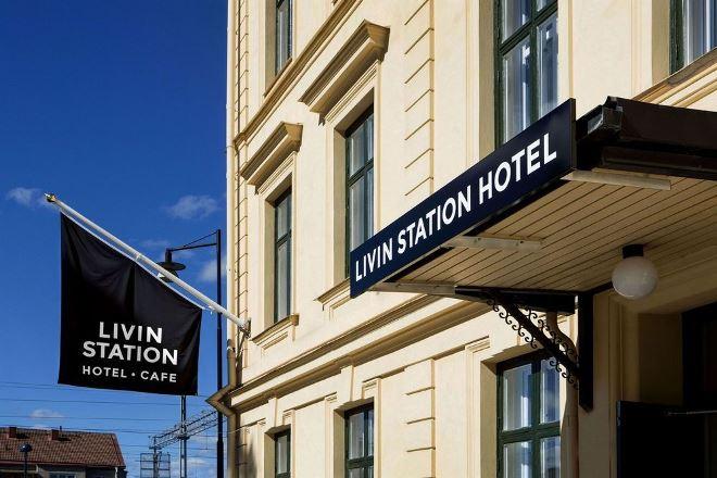 Отель Livin Station